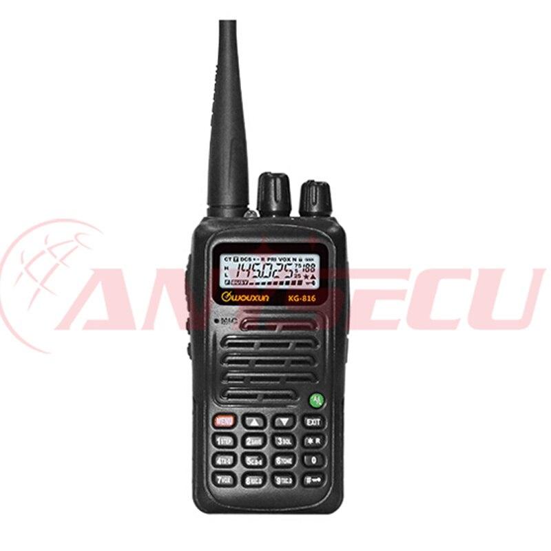 Low Price WOUXUN KG 816 VHF 136 174MHZ Two Way Walkie Talkie IP55 Waterproof transceiver