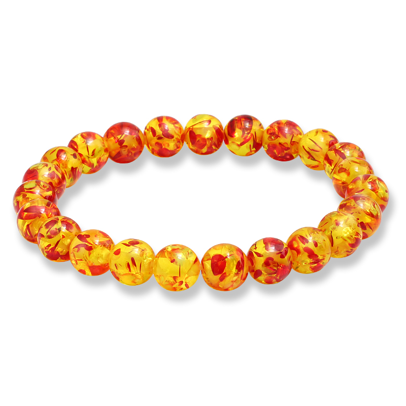 Браслет Будда из натурального камня, очаровательные женские браслеты с имитацией амберов, удача, фиолетовые Агаты, браслеты для женщин и му...