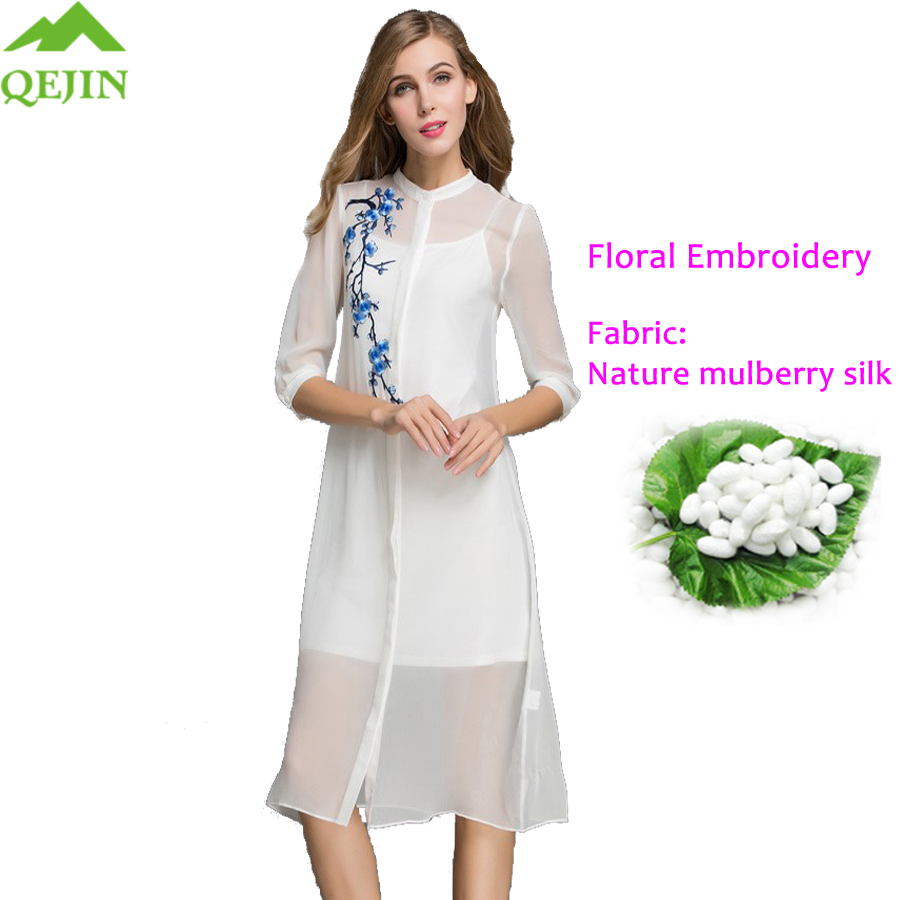 2018 nyári stílusú hölgy ing ruha retro virágos szexi felsők - Női ruházat