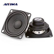 AIYIMA 2 pièces 2 pouces haut parleur 53 MM 4Ohm 8 W haut parleur de basse Mini haut parleur multimédia pour amplificateur bricolage