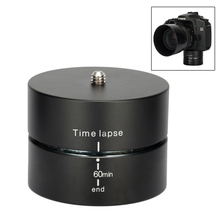 360 Panning Rotating Time Lapse Ball Head Stabilizer Tripod For Gopro Camera