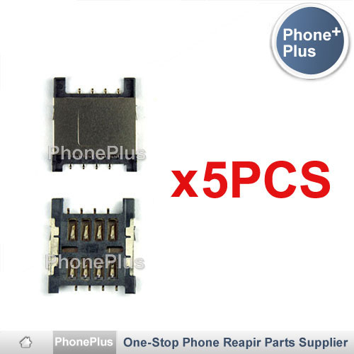 5PCS SIM Card Tray Reader Module Holder High Quality For HTC Incredible S S710e G11 Raid ...