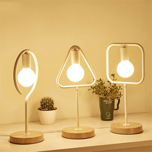 Modern Nordic  LED E27 Table Lamps Bedroom Bedside Reading Lighting Table Lights Iron Table Decoration Desk Lamps Light Fixtures modern nordic glass table lamps bedroom bedside reading desk lamp home decoration led table lights e27 lamparas lighting fixture