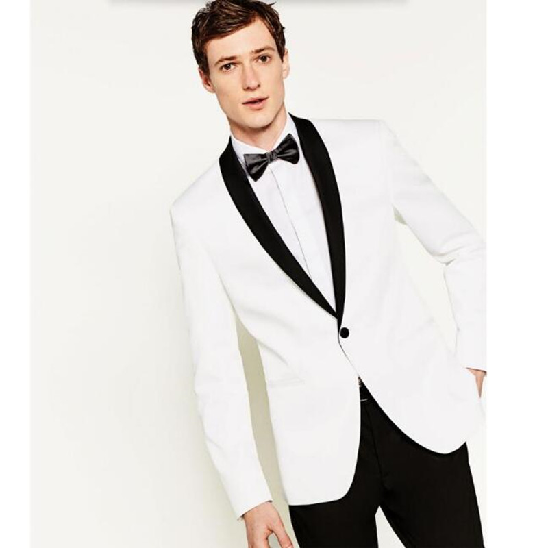 Charming Blazer Men Shawl Collar Menu0027s Suit Jacket Handsome A For Grain Of Buckle  Leisure The Groomu0027s Best Man Wedding Guests Dresses