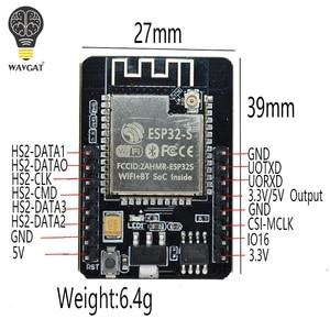 Image 4 - ESP32 CAM ESP 32S WiFi Modulo ESP32 seriale a WiFi ESP32 CAM Bordo di Sviluppo 5V Modulo della Macchina Fotografica di Bluetooth con OV2640