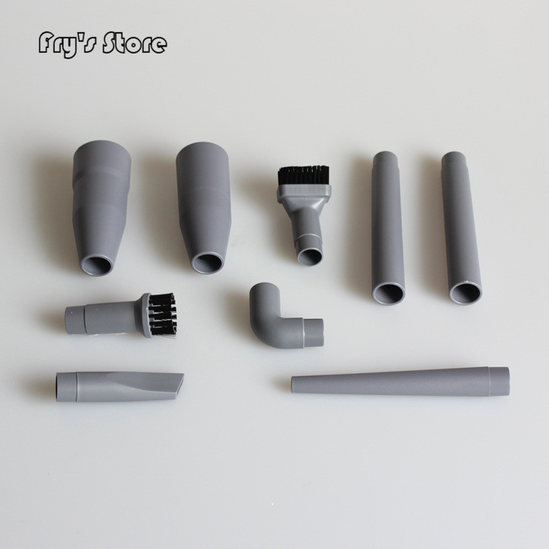 Wholesale Price 9Pcs/Set Universal Vacuum Cleaner Accessories Multifunctional Corner Brush Set Plastic Nozzle