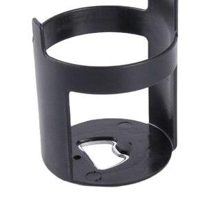 Image 5 - 1 個黒車のカップホルダードリンクボトルホルダースタンド容器フック車のトラックインテリア、窓ダッシュマウント