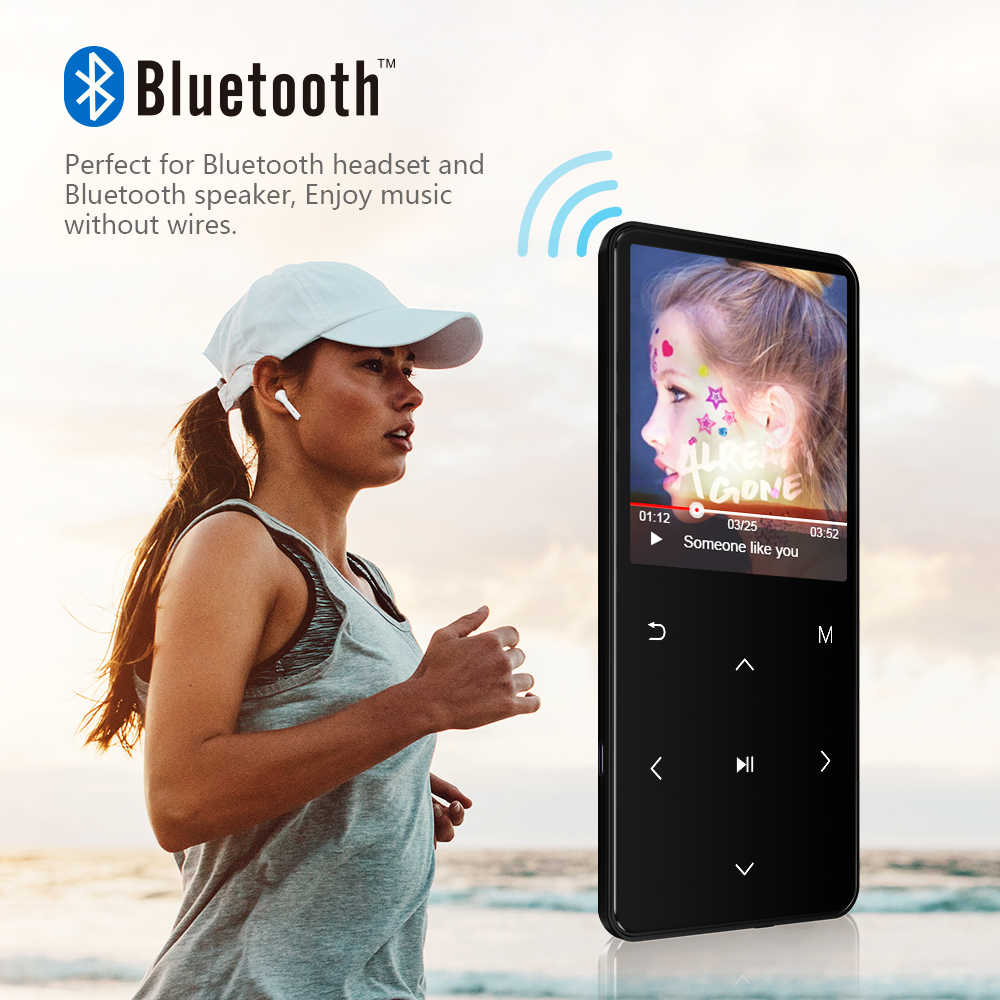 REDANT MP4 لاعب بلوتوث مع المتكلم mp3 mp4 مشغل موسيقى محمول mp 4 وسائل الإعلام سليم 2.4 شاشة تعمل باللمس مفاتيح راديو fm فيديو MP-4