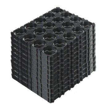 10/20/30/40/50 шт 4x5 батареи 18650 разделители держатели излучающий корпус пластиковый кронштейн DJA99