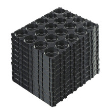 10/20/30/40/50 Viên 4X5 Cell Pin 18650 Không Gian Siêu Tốc Giữ Tỏa Ra Vỏ Nhựa Chân Đế DJA99