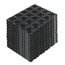 10/20/30/40/50 pièces 4x5 cellule 18650 Batteries entretoise supports rayonnant coque plastique support DJA99