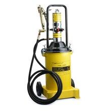 High Pressure Oiler Oiler 12L Pneumatic Butter Machine Pneumatic Grease Gun With 4 Meter Tube Butter Filling Machine