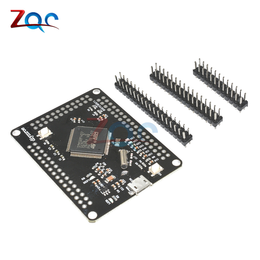 цена на STM32F4discovery STM32F407VGT6 ARM Cortex-M4 32bit MCU Core Development Board Module With Micro USB Pin