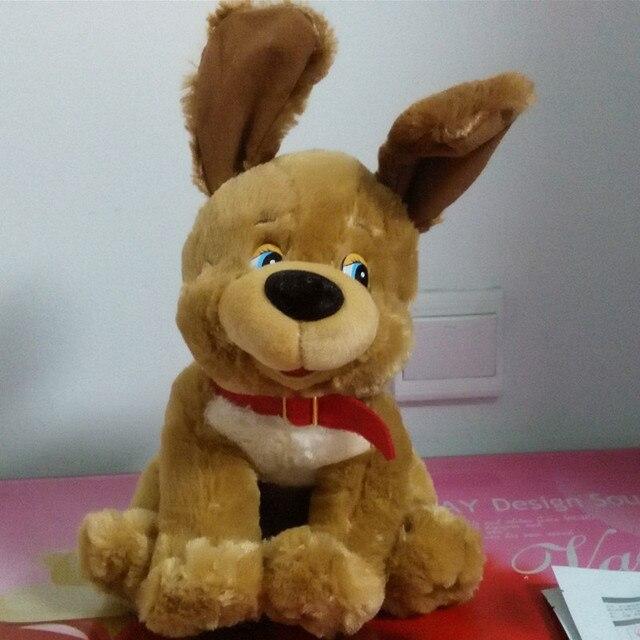 Русский язык интеллектуальный принимая щенок кукла, Электронные игрушки для животных, Интеллектуальной русский той рождественский подарок для детей