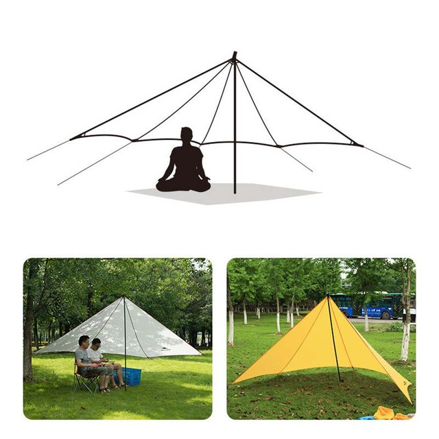 new camping fishing garden beach shelter canopy tent uv sun shade shelter awning in tents from. Black Bedroom Furniture Sets. Home Design Ideas