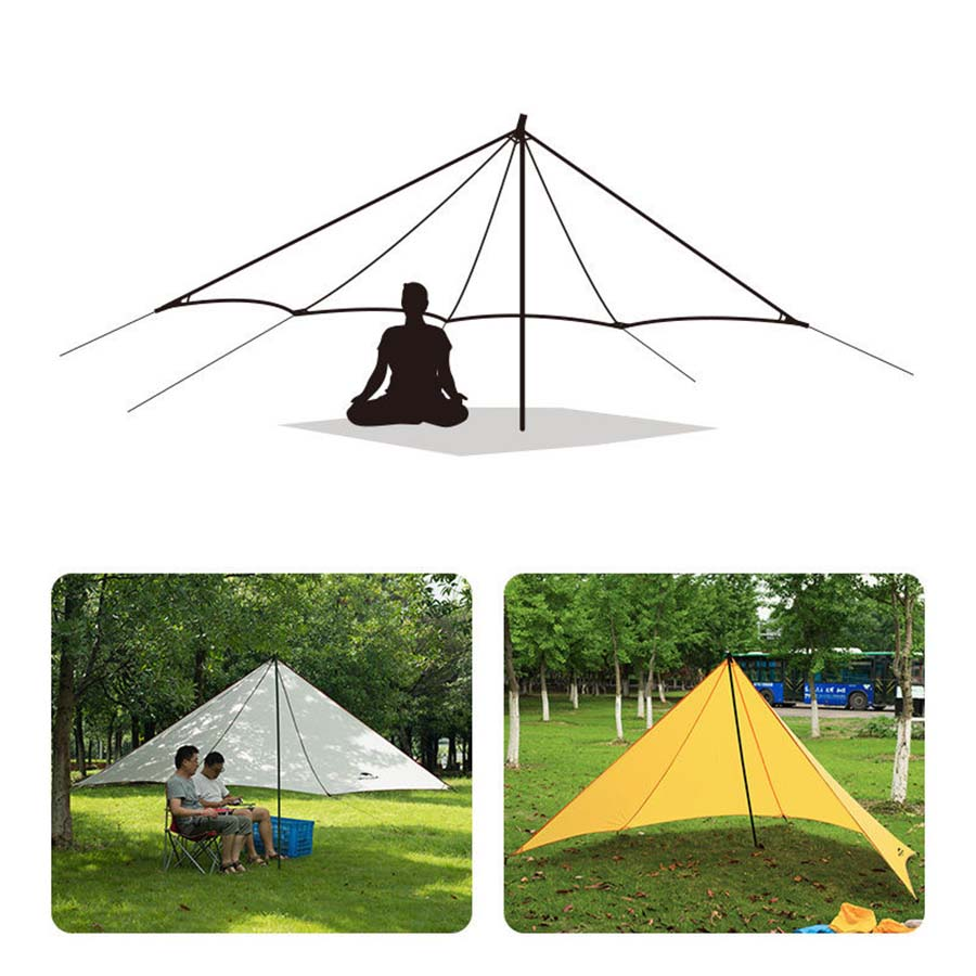 New Camping Fishing Garden Beach Shelter Canopy Tent UV Sun Shade Shelter  Awning(China)