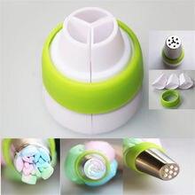 Лидер продаж 3-Цвет глазировки сумка русская насадка постоянного тока в постоянный преобразователи муфта для декорирования торта