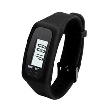 Watch Digital LCD Pedometer Run Step Walking Distance Calorie Counter Watch Bracelet Silicone Reloj Mujer Free Shipp Hot Sell 2