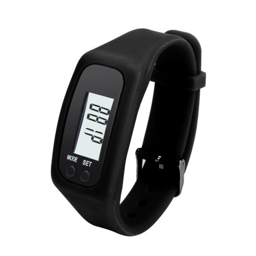 Watch Digital LCD Pedometer Run Step Walking Distance Calorie Counter Watch Bracelet Silicone Reloj Mujer Free Shipp Hot Sell 2 10color digital lcd pedometer run step walking distance calorie counter men women watch bracelet watch reloj hombre montre femme