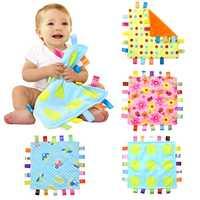 Jungen Und Mädchen 7 Arten Weichen Hand Handtuch Neugeborenen Baby Beruhigende Handtuch Infant Cartoon Sicherheit Decke Plüsch Beruhigende Spielzeug Kid pflege