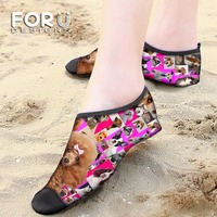 FORUDESIGNS Pink Children Swimming Fins Diving Socks Non Slip Seaside Beach Shoes Quick Dry Snorkeling Boots