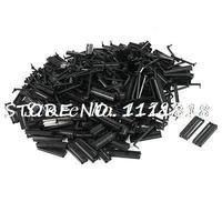 200 Pcs FC1 40P Flat Ribbon Cable 2 Row 40 Pin IDC Socket Connector Black