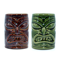 TikiMug Tiki Hawaii Ceramics Cocktail Wine Glass Originality Personality Mojito Moggi Support Cup Totems The Statue