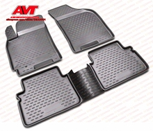 Коврики чехол для Chevrolet Lacetti 2004-4 шт.. резиновые коврики Нескользящие резиновые интерьерные автомобильные аксессуары для укладки