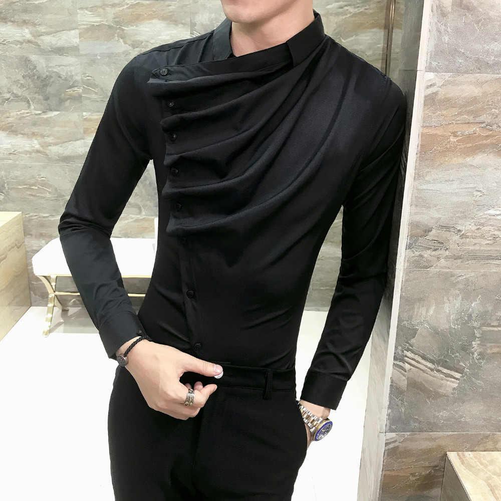 Club Pliegue De Frontal Hombre A Otoño 2019 Larga Vestir