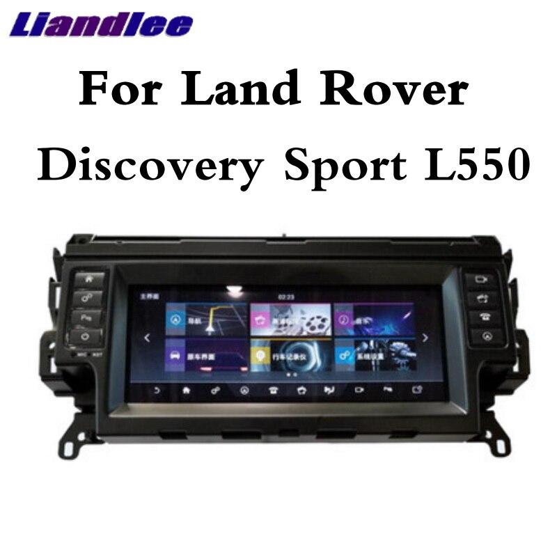 Para Land Rover Discovery Esporte L550 2014 ~ 2019 Liandlee Reprodutor multimídia Carro CarPlay NAVI Rádio Tela de Navegação GPS