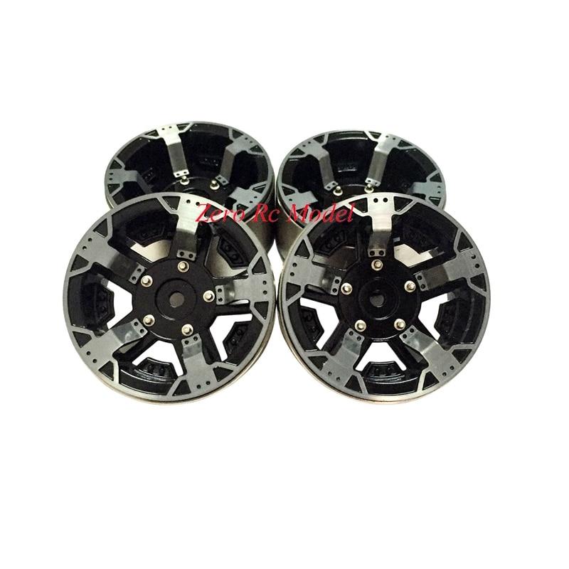 1 10 RC Crawler CNC Aluminium 1 9 Heavy Duty Beadlock Alloy Rim Wheel Free Shipping