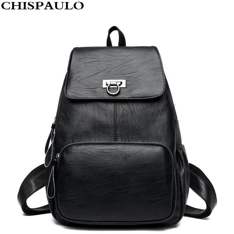 2017 Fashion High Quality Women Backpack Famous brand designer Genuine Leather Russian Women Shoulder Bag Cowhide Bolsa Feminina Сумка