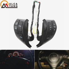 Malcayang Lenkrad Audio-steuerschalter/Taste 35880-SDB-A01 Für Honda Accord EX 05-07