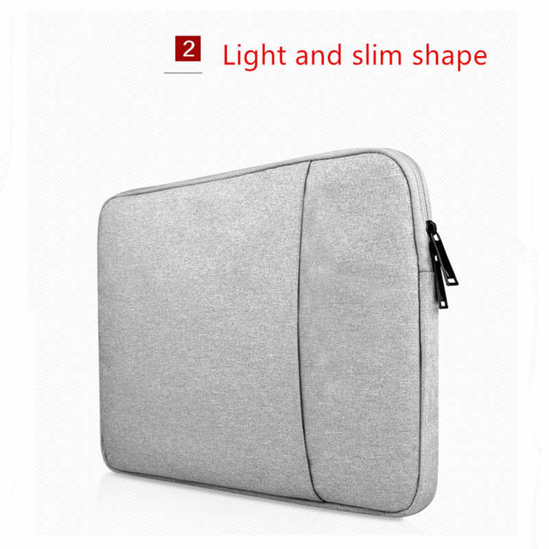 Tahan Air Liner Laptop Sleeve 14 15.6 Notebook Tas untuk Macbook Udara Pro Retina 11 13 15 Case untuk Xiaomi Lenovo dell Tas
