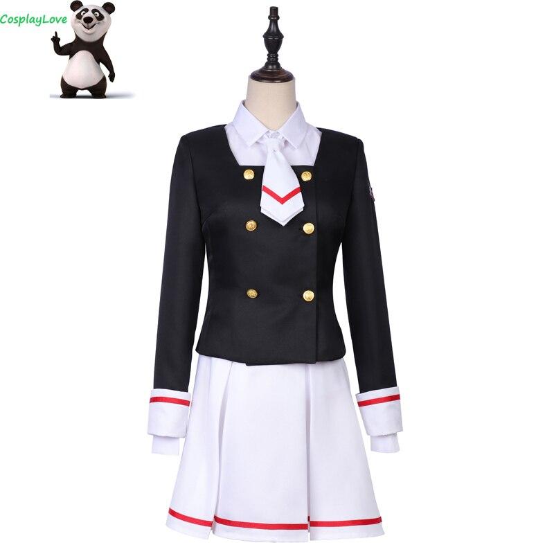 CosplayLove carte Captor KINOMOTO SAKURA Cosplay Costume uniformes robe pour fille femmes Halloween noël