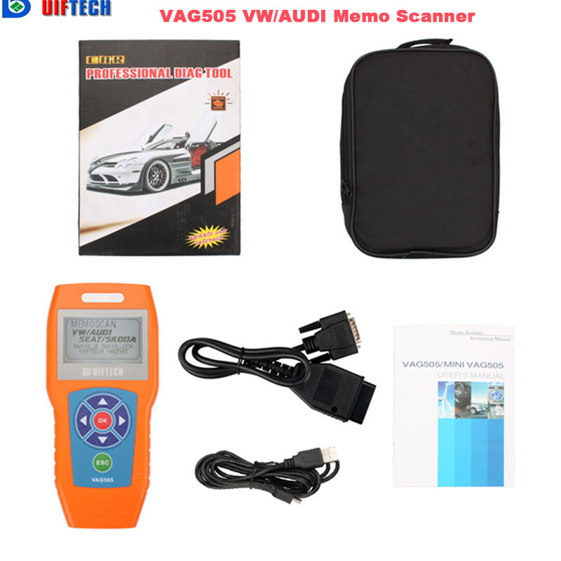 Цена за Горячие Продаж!! 2017 Vag505 Obd2 Vag Сканер вместо Vag5053 Профессиональный Obdii Автоматический Диагностический Инструмент с Мути Языке
