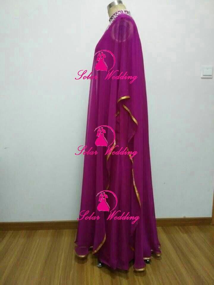 Kim kardashian marroquí kaftan turco vestidos V profundo cuello de ...