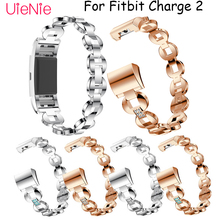 For Fitbit Charge 2 frontier/classic diamond replacement band mens watch womens bracelet for strap accessories