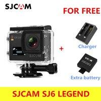 Оригинальный SJCAM sj6 Легенда 4 К 24fps Ultra HD notavek 96660 Водонепроницаемый действие Камера 2.0 Сенсорный экран дистанционного Спорт DV сырые фото