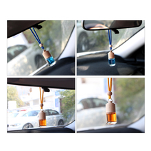 Hanging Car Air Freshener, Ocean Perfume Scent Bottle for Automobile Outlet