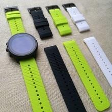 Bracelet Tschick pour SUUNTO 9 Baro sangles montre intelligente avec bracelet de montre de remplacement en Silicone résistant aux rayures