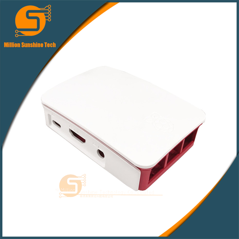 Latest Raspberry Pi 3 Official Case ABS Professional Enclosure Box Only For Raspberry Pi 3 Model B Plastic Protective Case