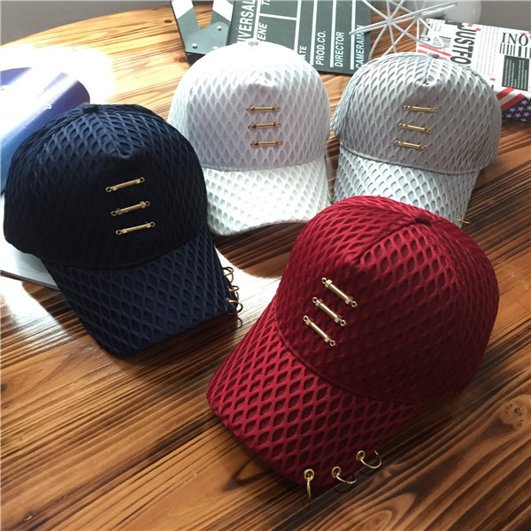 New Hollow Out Hip Hop Gauze Cap Peaked Cap Fashion Hoop Lovers Sun Hat Snapback Baseball Caps Sunscreen Spring Summer new hot style 2016outdoor fashion hat flat along the hip hop baseball cap creative sunbonnet sun hat
