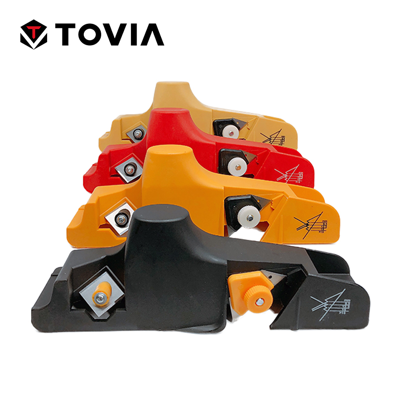 TOVIA Plasterboard Gypsum Board Drywall Edge Planing Tool Chamfer Jointer Hand Plane Universal Wood Planer Woodworking Hand Tool new indonesia mahogany hand planer woodworking wood planer planing wood plane hand plane carpenter woodworking planing tool