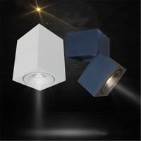 LED Surface Mounted Luminaire 3W / 7W AC85 265V Adjustable 90 Degree Spot Light LED Light LED Ceiling Lamp