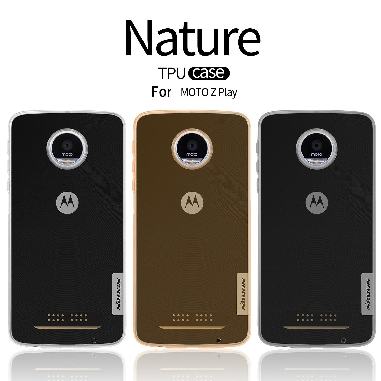 NILLKIN Ultra Thin Slim TPU Case For Motorola MOTO Z Play XT1635 Hight Quality Soft TPU Back Cover For Motorola MOTO Z Play
