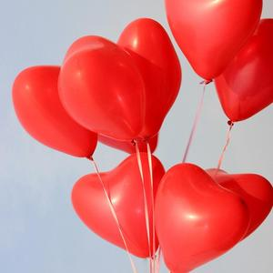 Image 5 - 50pcs 2.2g 10inch Red Pink White Heart Latex Balloons Wedding Marriage Birthday Party Decors Inflatable Helium Globos Proposal