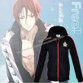 Free! Iwatobi top Coat Swims Club Rin Matsuoka Cosplay Costume Jacket Unisex High School Uniform mens clothes boys outfit