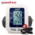 Yuwell YE660A плечи кровяное давление пульс монитор руку tensiometros цифровой сфигмоманометр рука CE FDA измеритель артериального давления
