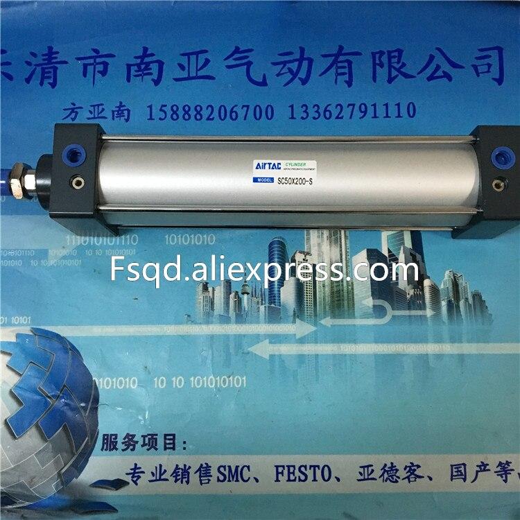 SC50x450-S SC50x500-S SC50x600-S SC50x700-S Airtac standard cylinder pneumatic component air tools air cylinder sc100x125 s airtac standard cylinder air cylinder pneumatic component air tools sc series